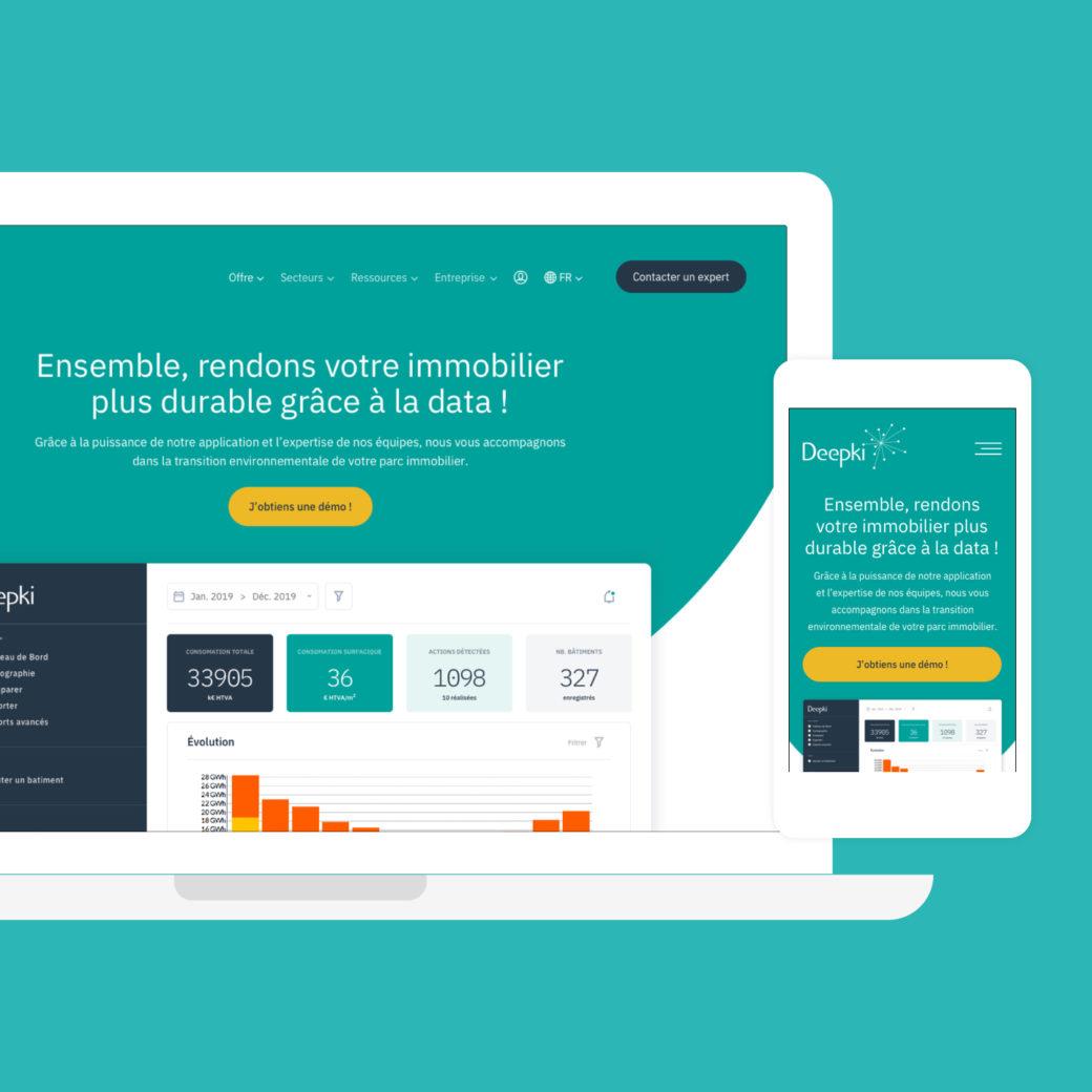 Deepki - Refonte Site Internet